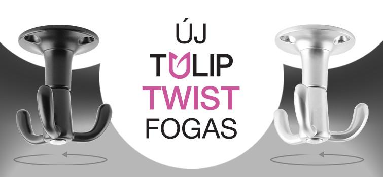 Twist forgatható multifunkcionális fogas