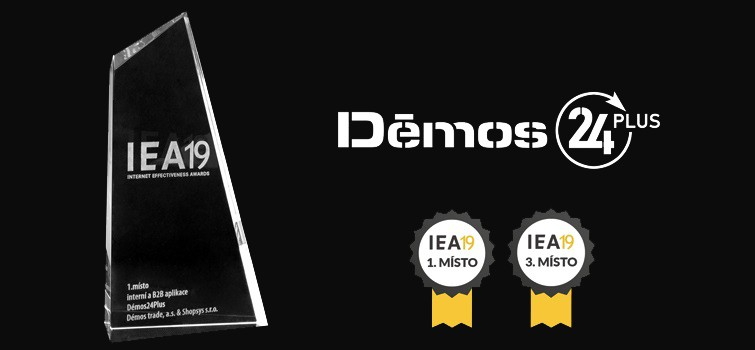 Démos24Plus portálunk díjat nyert