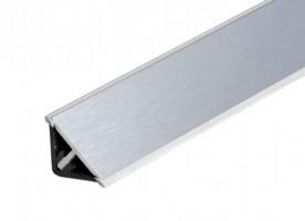 TL - SUPER profil  L20/tr/Al Csiszolt alumínium4000/11,5/11,5