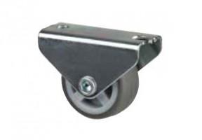 STRONG Kerék 30 mm, szürke, rögzített, puha futófelület