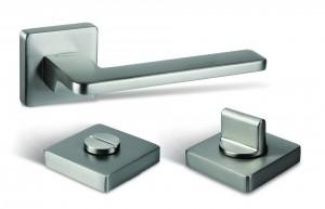 TWIN kilincs Giada HA110 HR WC/ szatén nikkel matt