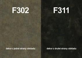 Zástěna F302 ST87/F311 ST87 4100/640/9,2