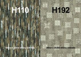 Zástěna H110 ST9/H192 ST10 4100/640/9,2
