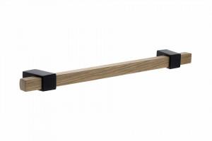 TULIP Fogantyú Beam 192 tölgy lakkozott/fekete matt