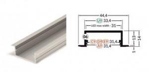 TM-profil LED Vario30-06 (3m) fehér