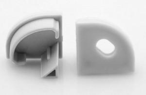 LP-takaró elem Corner 16 gömbölyű nyílással