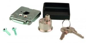 Bútor zár 462 kulcs FAB nikkel különféle kulcs kombinációk