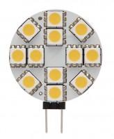 SK-fényforrás LED12 SMD G4-WW meleg fehér