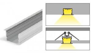 TM-profil LED Vario30-07 (2m) fehér