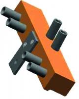 Szerelő sablon pánthoz SZ 82 14-16mm