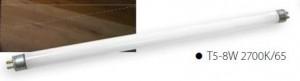 SK-lineáris fénycső T5-8W-4000K/65 semleges