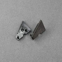 TM-végzáró Corner profilhoz fekete (pár)