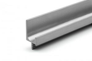TULIP Rápattintható fogantyú profil-Juvio II 2900mm nemesacél