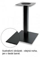 K-STRONG asztalláb központi 450x450 szürke 730