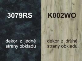 Hátefal K002WO/3079RS 4100/640/10