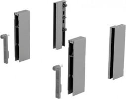 HETTICH 9122978 ArciTech DesignSide adapter/124 mm ezüst