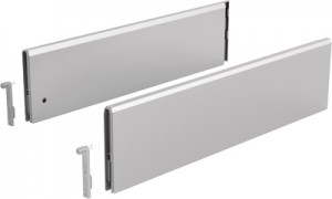 HETTICH 9122949 ArciTech TopSide 126/400 mm ezüst