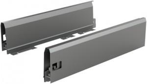 HETTICH 9121305 ArciTech oldalfal 126/450 mm antracit B