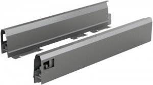 HETTICH 9121293 ArciTech oldalfal 550/94 mm antracit B