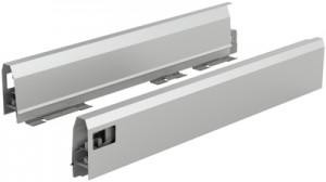 HETTICH 9121204 ArciTech oldalfal 94/400 mm ezüst J