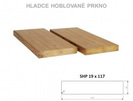 TERASZ ThermoWood hasáb SHP 19/117/4200