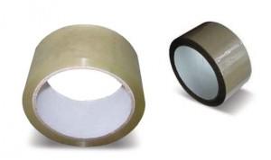 Csomagoló szalag barna sz.25mm (66m)