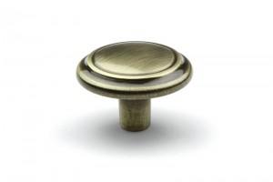 TULIP gomb Turia antik réz + csavar