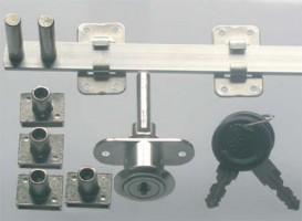 SISO 1018 központi zár 600/4 nikkel