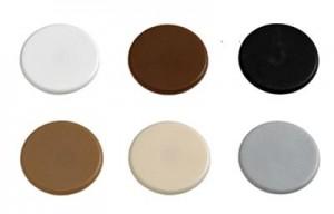 HETTICH 71054 takarósapka Rastex 15 műanyag fehér