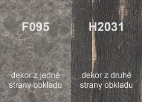 Hátefal H2031 ST10/F095 ST87 4100/640/9,2
