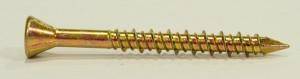 Cetris csavar 4,2x45 / 25 süllyesztett fej cink sárga